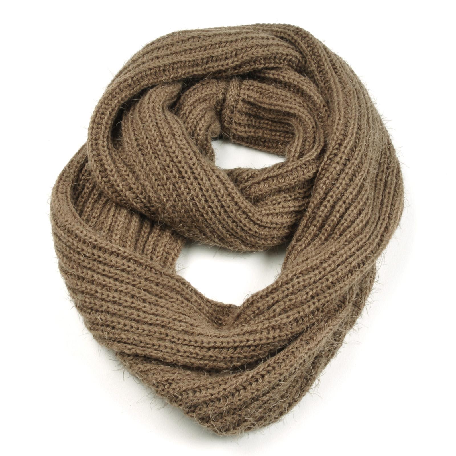 tricoter un foulard tube