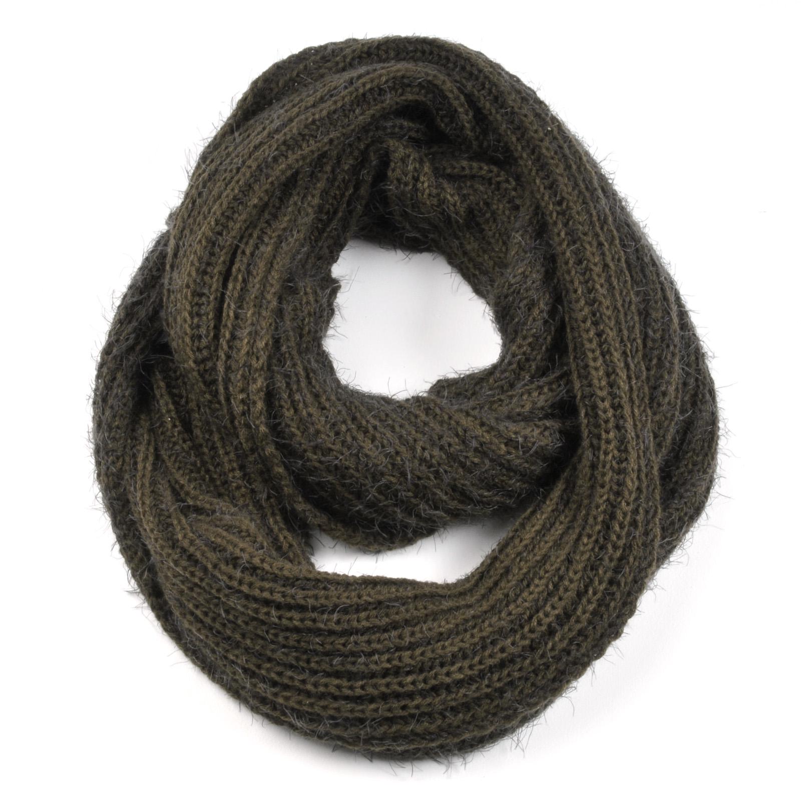 tricoter un foulard tube. Black Bedroom Furniture Sets. Home Design Ideas