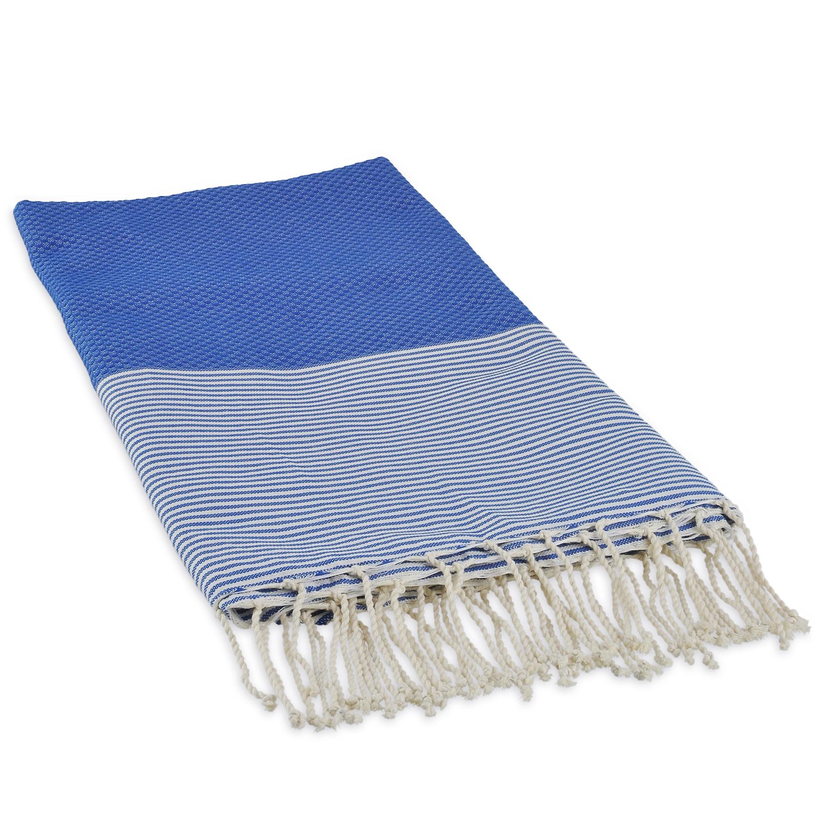 Fouta nid dabeilles bleue
