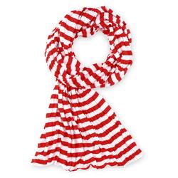 Echarpe rayée Marinière Rouge et blanc