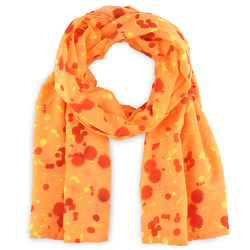 Foulard Luz orange
