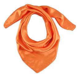 Foulard carré Eazy <br/>Orange