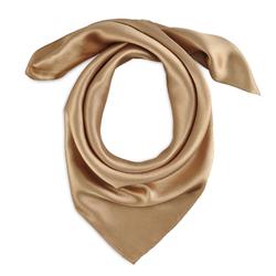 Foulard carré Eazy <br/>Bronze