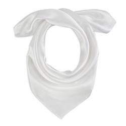 Foulard carré Eazy <br/>Blanc
