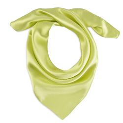 Foulard carré Eazy <br/>Vert Anis