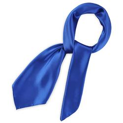 Foulard carré Gala <br/>Bleu roi
