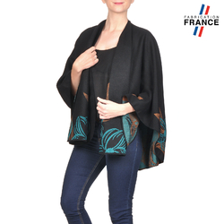 Poncho ORCHIDEE Turquoise