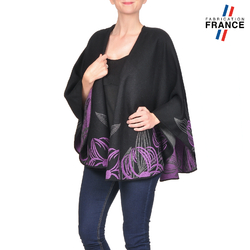 Poncho ORCHIDEE Violet