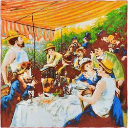 Carré de soie SilkArt <br/>Auguste Renoir <br/>Déjeuner des canotiers