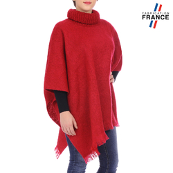 Poncho pull BEA Rouge