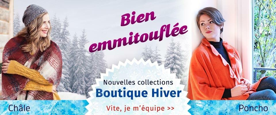 Le froid arrive... Venez découvrir nos collections anti-froid tous style