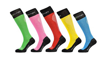 Chaussettes Breathable rainbow de Tech Stirrups