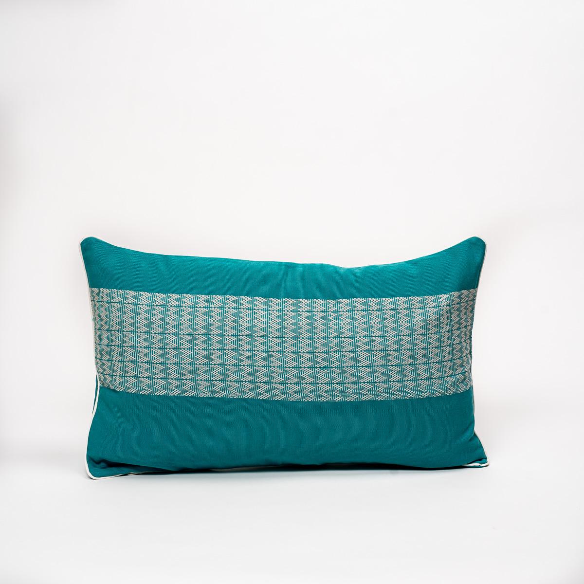 Coussin Cim Lio turquoise