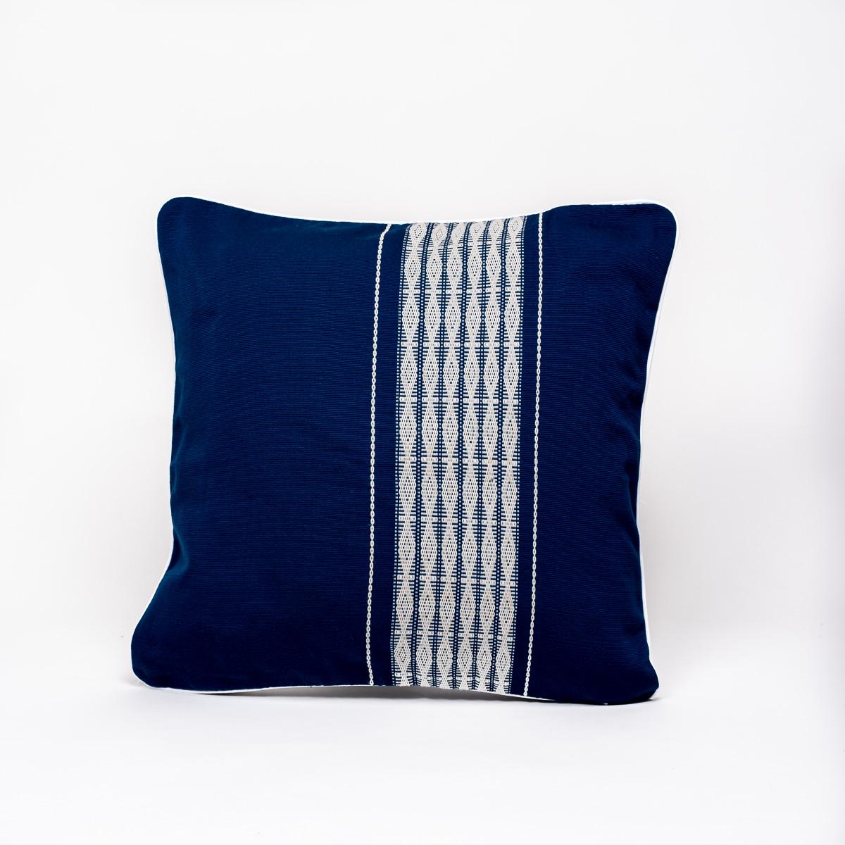 Coussin Ksor Pyiu bleu
