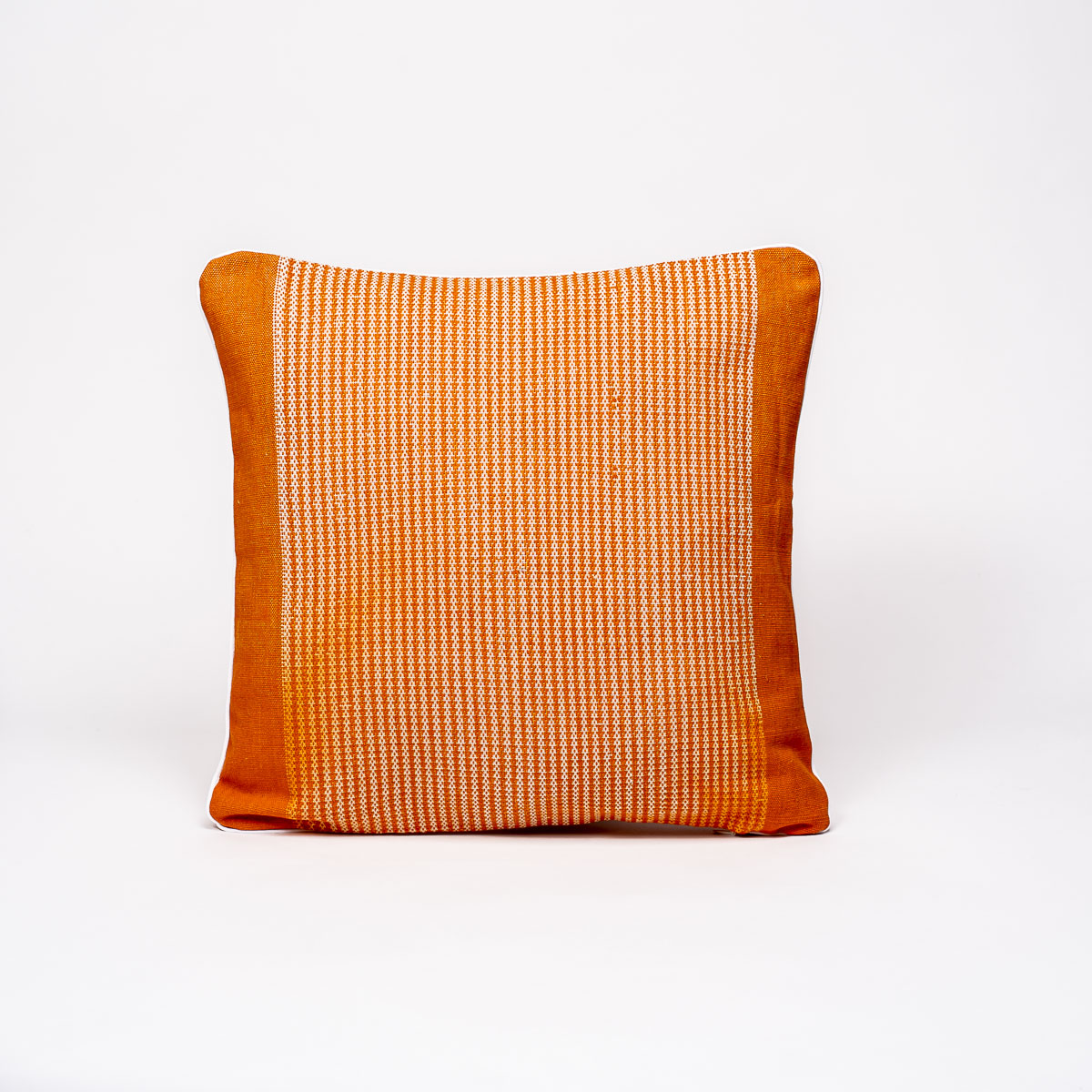Coussin Nha sra orange - carré