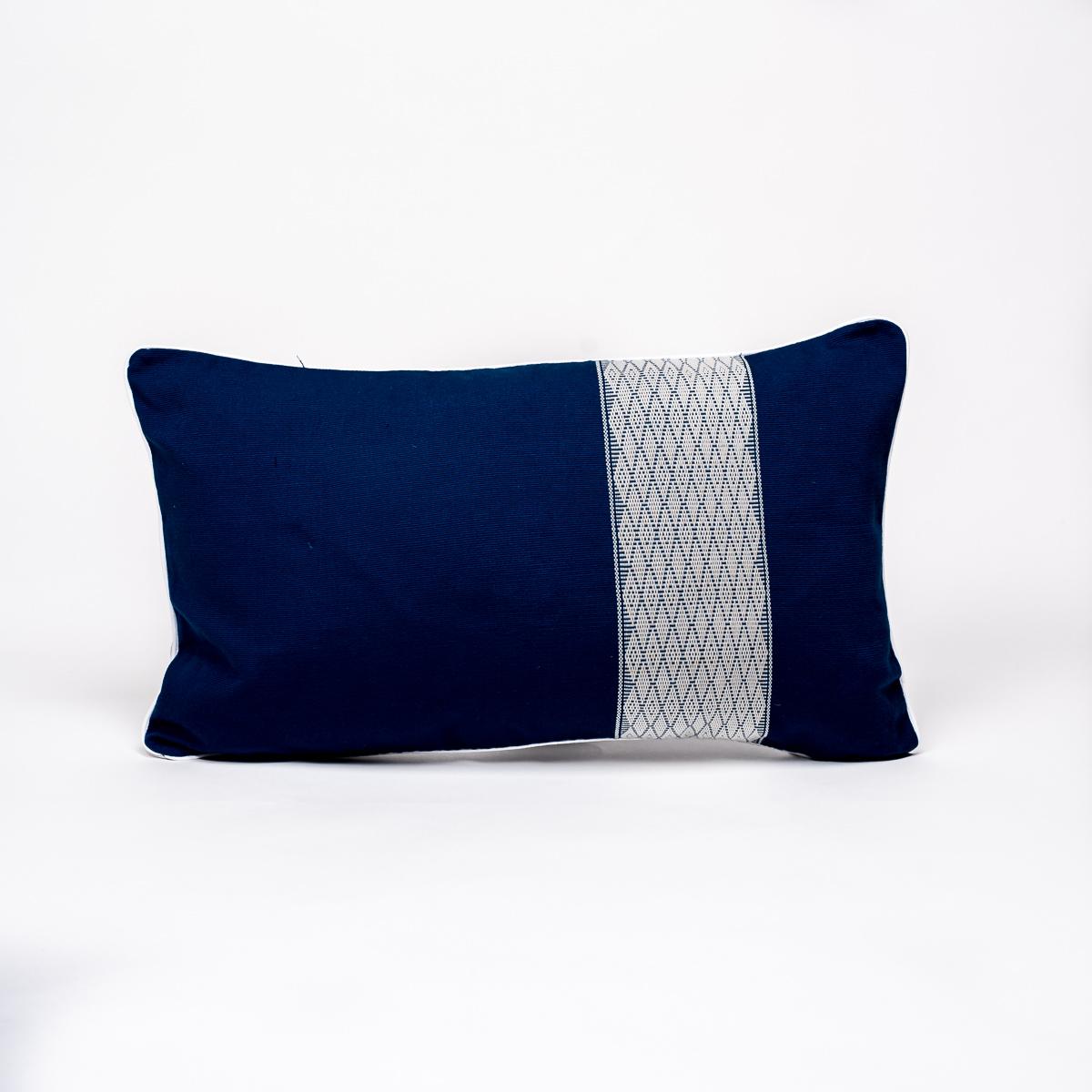 Coussin Boni bleu