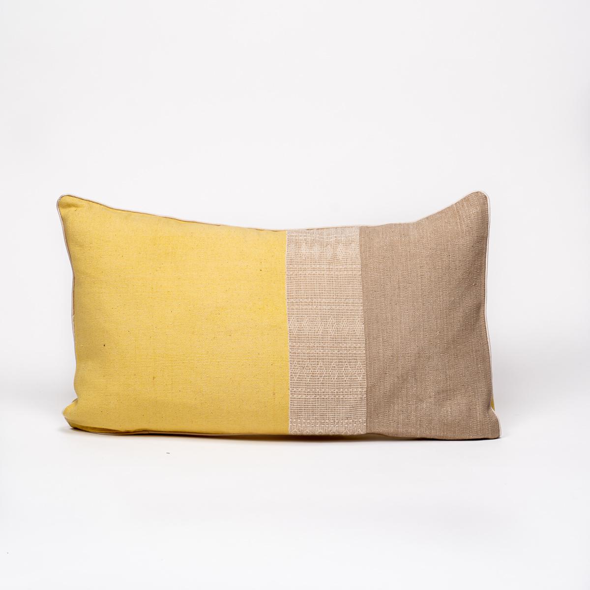 Coussin Walang jaune