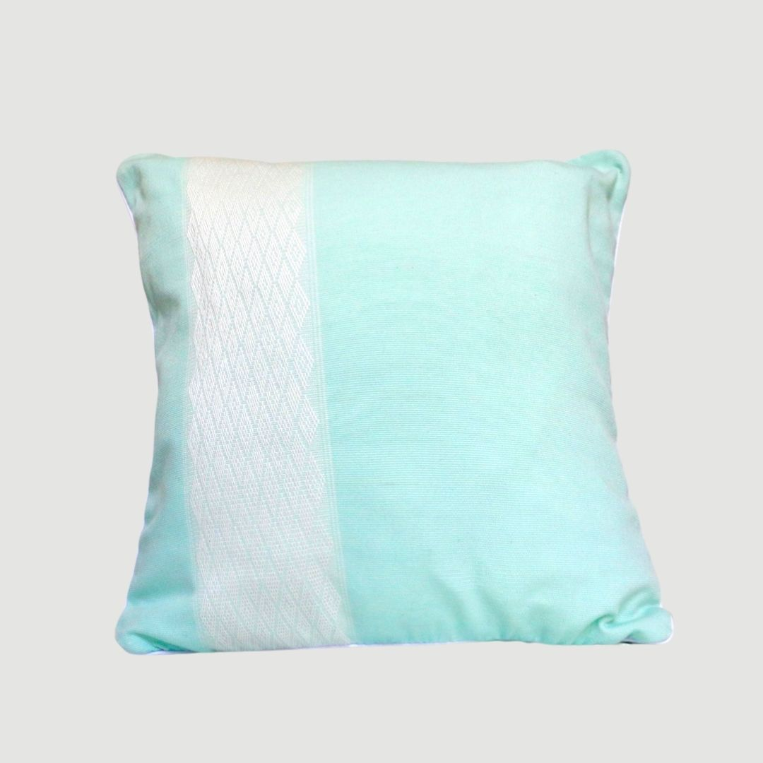 Boni bleu en coton céladon