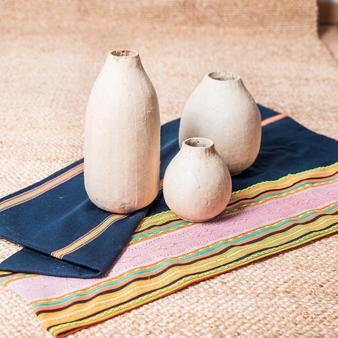Vase en jacinthe d\'eau