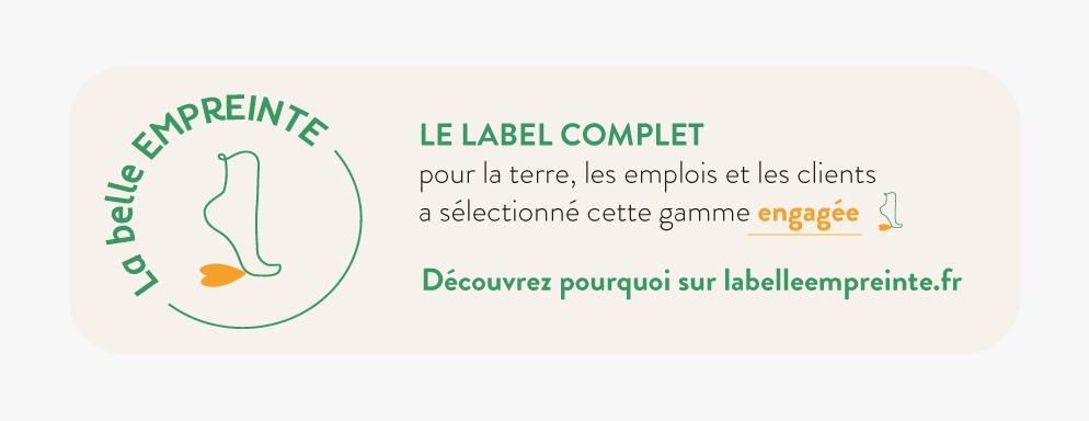 La Belle Empreinte, Label éco responsable