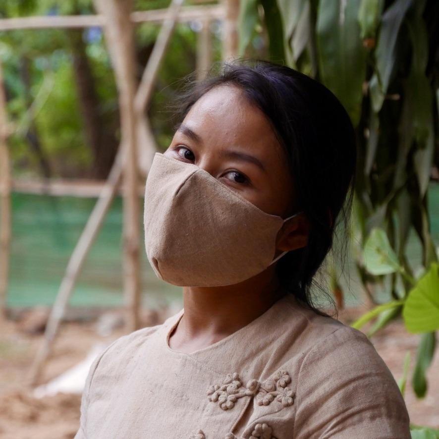 Masque en tissu réutilisable - bandana