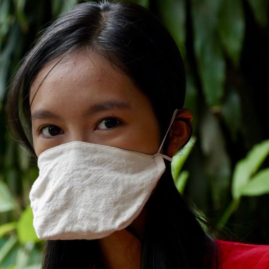 Masque en tissu réutilisable - canard