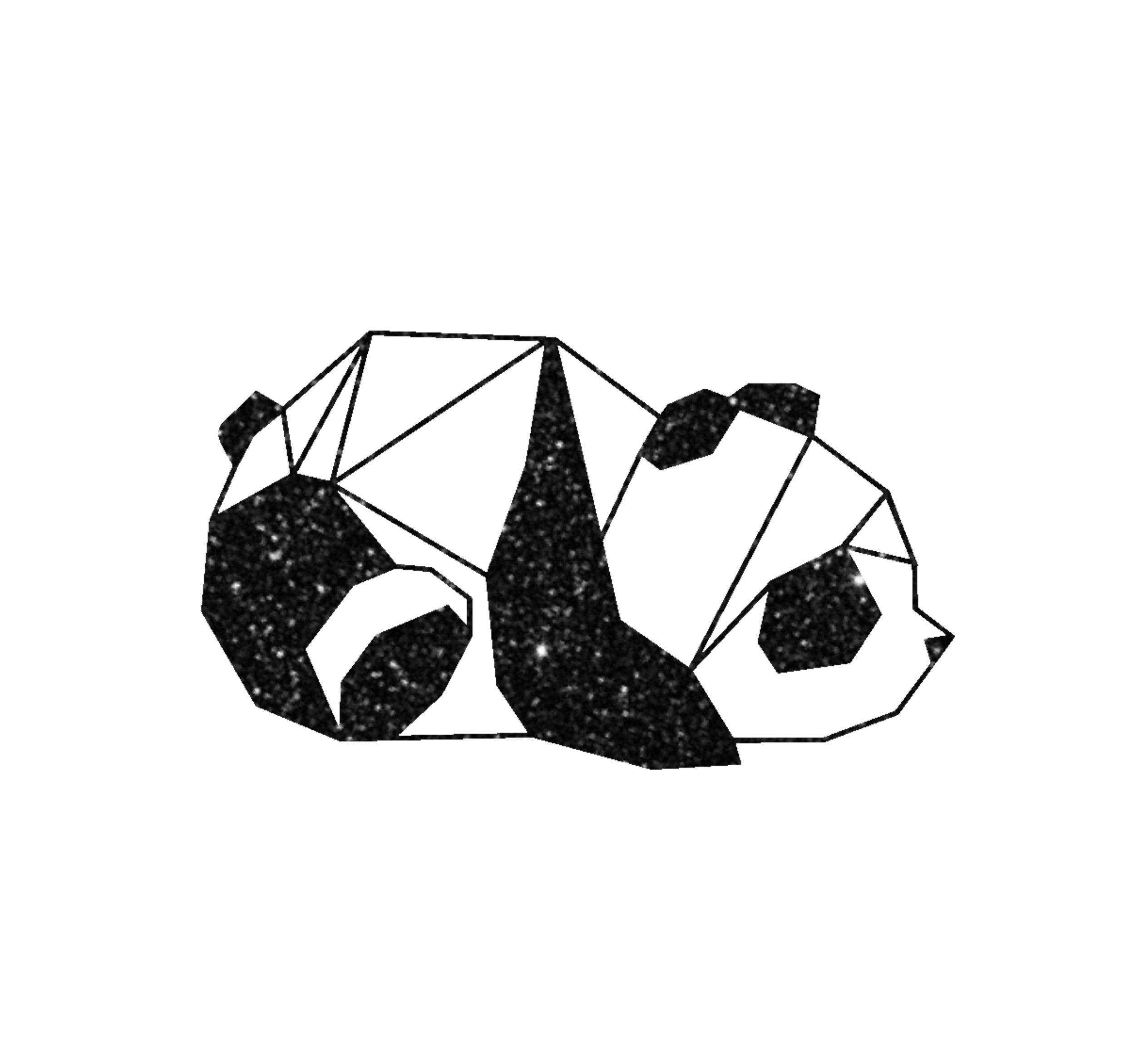 2111VNOP Panda Géométrique