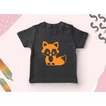 renard t-shirt motif thermocollant