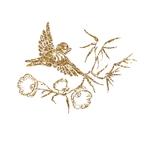 2084VORP Oiseau Branche
