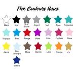 Couleurs unies Flex Textile