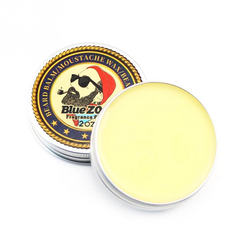 Homme-barbe-huile-baume-Moustache-cire-pour-coiffer-cire-d-abeille-hydratant-lissant-messieurs-soin-de