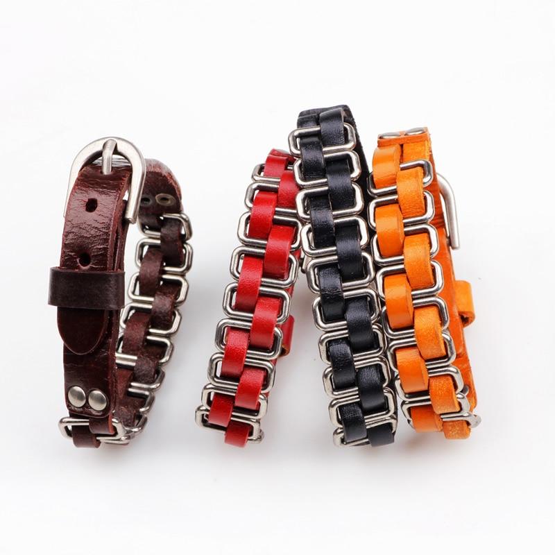 Bracelet homme en cuir TRACKS