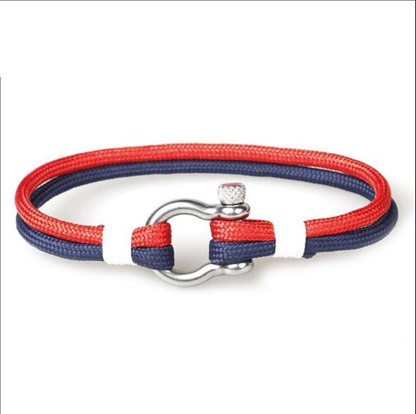 Bracelet homme en corde CLIMB