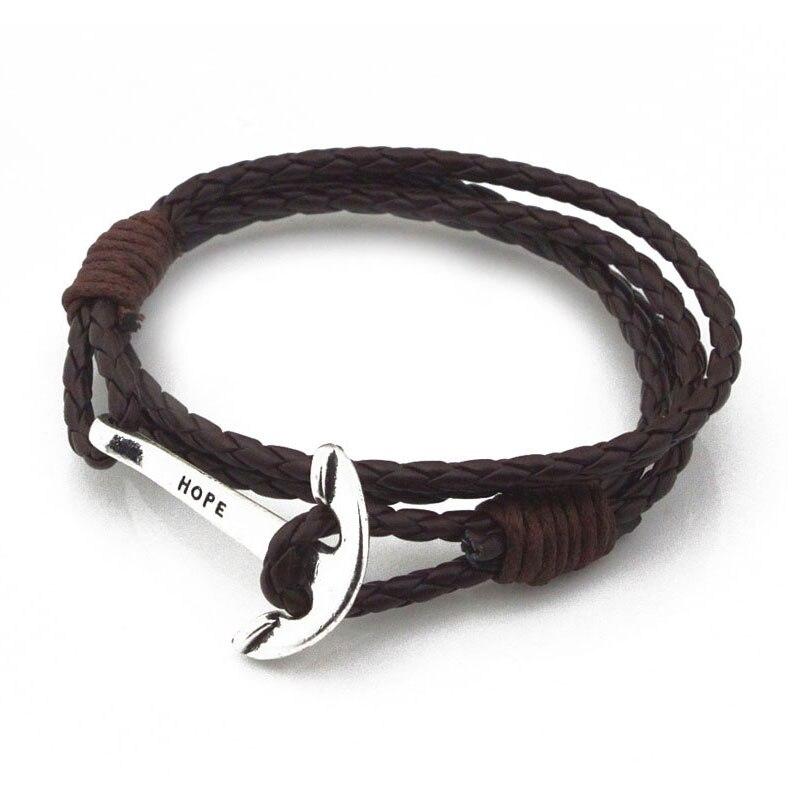 Bracelet homme en cuir PU SAILOR