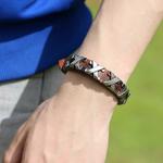 Bijoux-NIUYITID-hommes-nouveaux-accessoires-en-alliage-de-cuir-v-ritable-Style-Punk-Bracelet-pour-homme