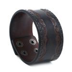 NIUYITID-hommes-Bracelet-en-cuir-marron-Rock-Punk-gar-on-accessoires-charme-bijoux-fait-main-homme