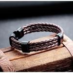 Bracelet-en-cuir-multicouche-NIUYITID-pour-hommes-Simple-alliage-boucle-Bracelets-main-et-Bracelets-hommes-bijoux