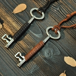 NIUYITID-hommes-bijoux-colliers-et-pendentifs-cl-alliage-accessoires-en-cuir-v-ritable-ras-du-cou