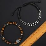 Bracelet-en-perles-naturelles-uniques-pour-hommes-en-pierre-avec-il-de-tigre-en-acier-inoxydable