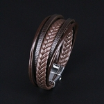 NIUYITID-hommes-Bracelet-en-cuir-aimant-boucle-Vintage-m-le-tresse-bijoux-pour-femmes-la-main