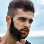 Nouveau-Double-side-barbe-fa-onnage-style-mod-le-ABS-barbe-peigne-hommes-rasage-outils-pour
