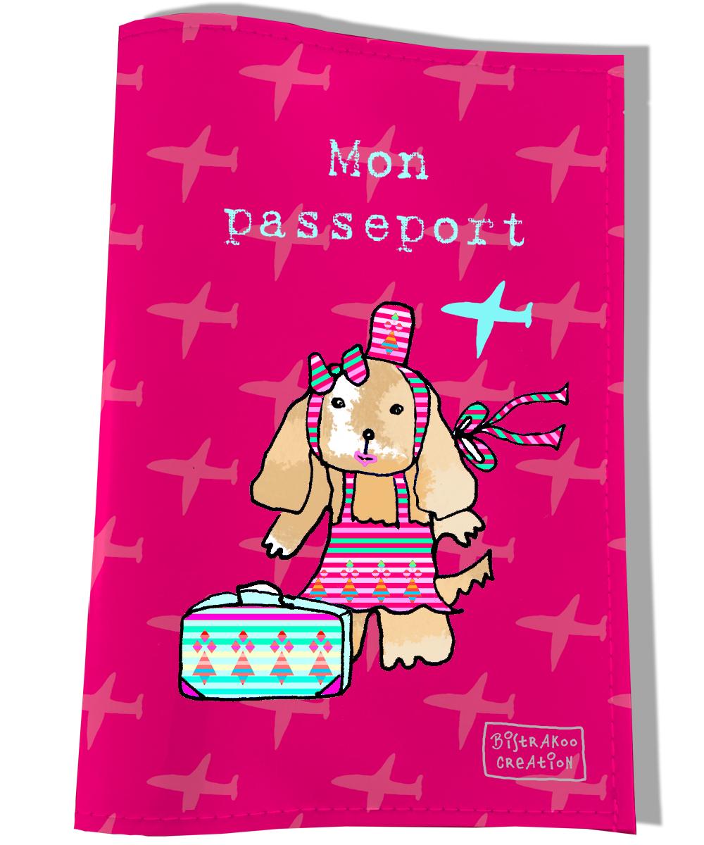 Protège passeport pour chien Mon passeport
