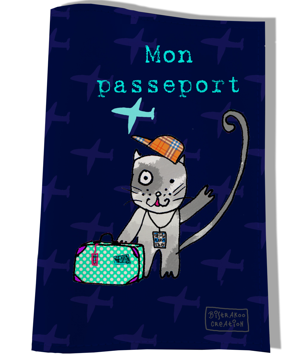 Protège passeport pour chat Mon passeport