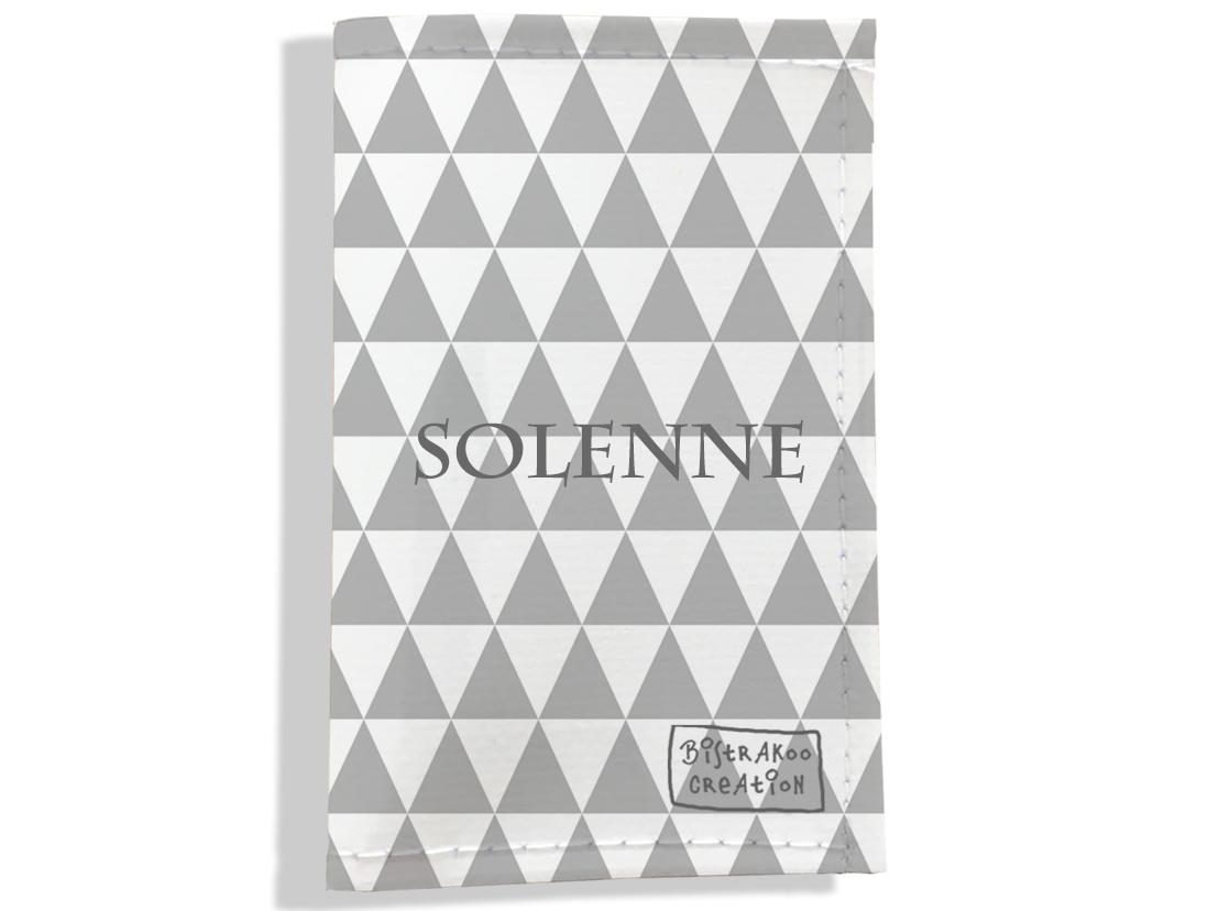 Porte carte grise personnalisable pour femme motif Graphique
