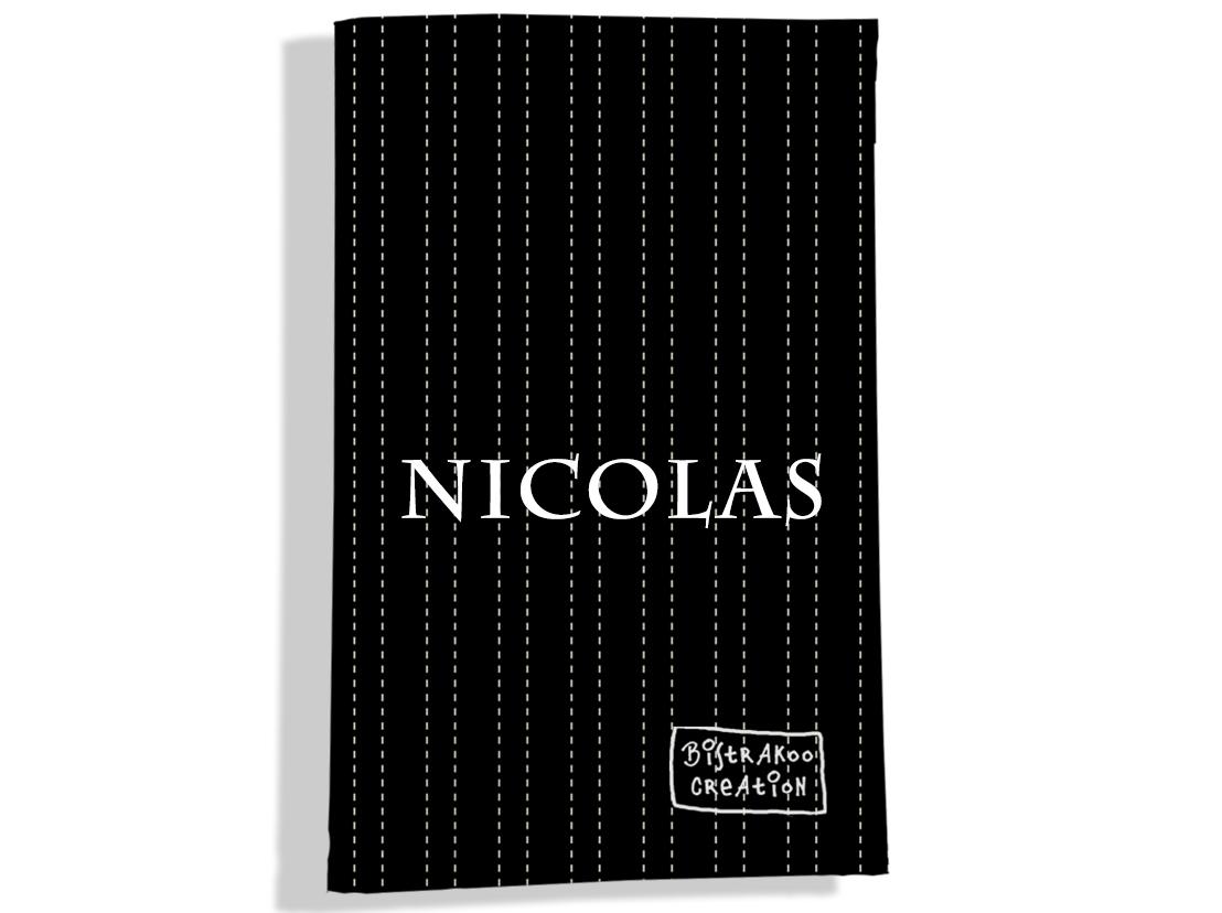 Porte carte grise personnalisable pour homme motif Pointillés