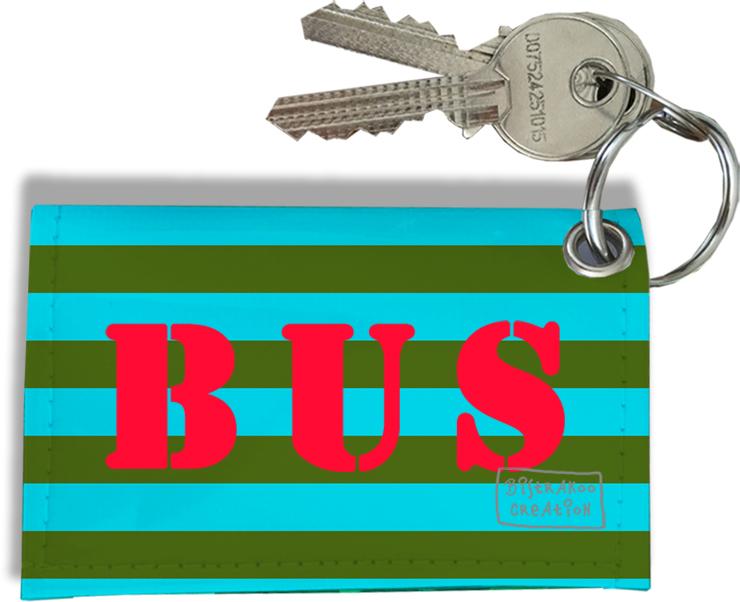 Porte-clés Carte de Bus, Etui Porte-clés Carte de Bus & Pass Navigo réf. 930
