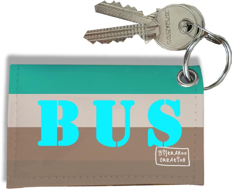 Porte-clés carte de bus, Etui porte-clés carte de bus Réf. 931