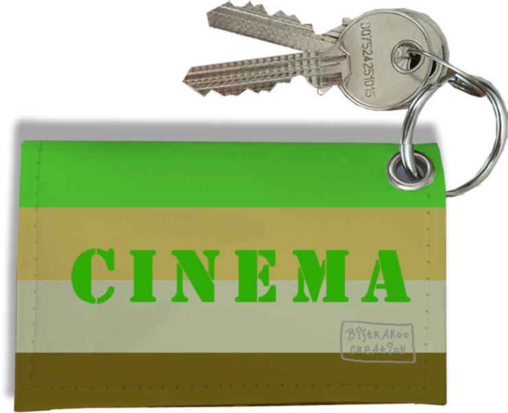Porte-clés Carte de cinéma, Etui Porte-clés Carte de cinéma Réf. 948