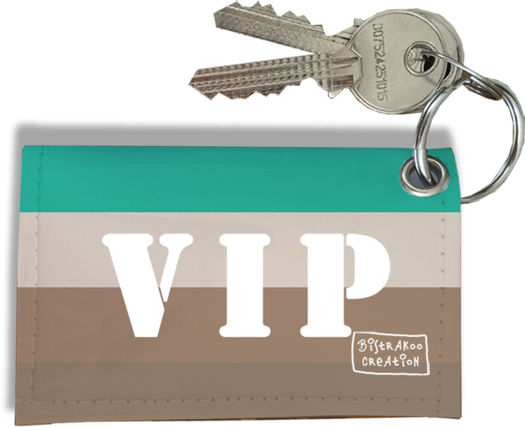 Porte-clés Carte Pass VIP, Etui Porte-clés Carte Pass VIP Réf. 949