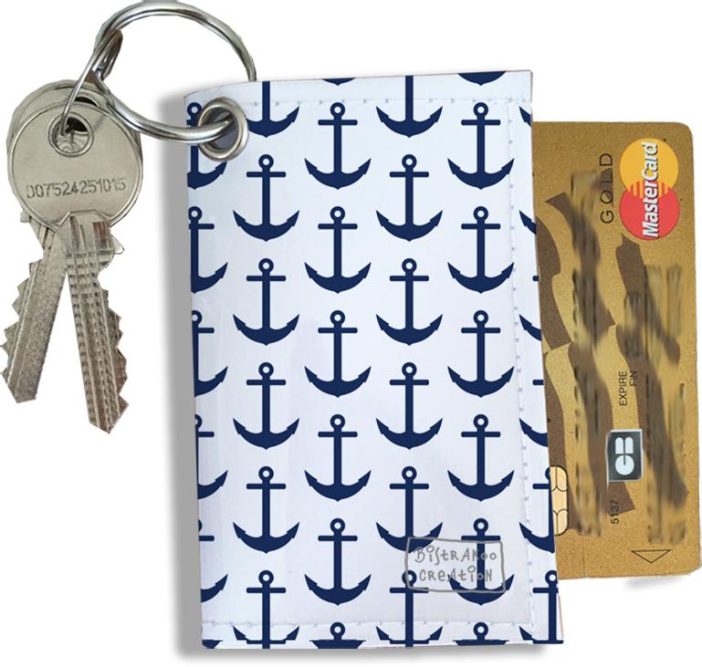 Porte-clés Pratique pour Cartes & Photos Homme, Etui Porte-clés et Cartes (2127)
